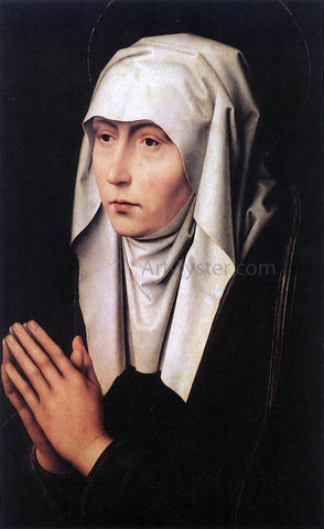 Hans Memling Mater Dolorosa - Hand Painted Oil Painting