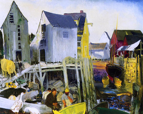 George Wesley Bellows Matinicus - Hand Painted Oil Painting