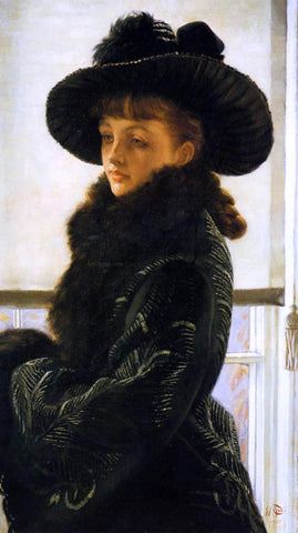 James Tissot Mavourneen (also known as Portrait of Kathleen Newton) - Hand Painted Oil Painting