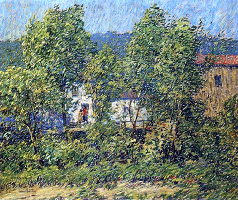 Robert Spencer May Breezes - Hand Painted Oil Painting
