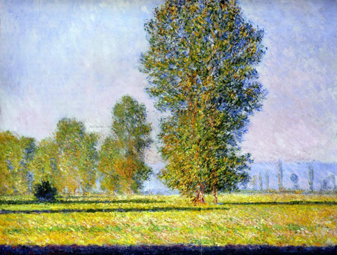 Claude Oscar Monet Meadow at Limetz - Hand Painted Oil Painting