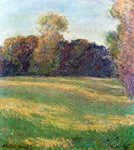Claude Oscar Monet Meadow in the Sun, at Giverny - Hand Painted Oil Painting