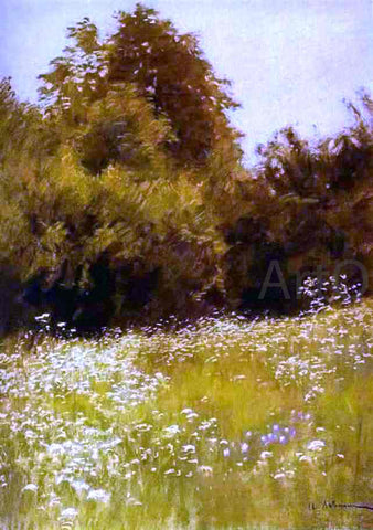 Isaac Ilich Levitan Meadow on the Edge of a Forest - Hand Painted Oil Painting