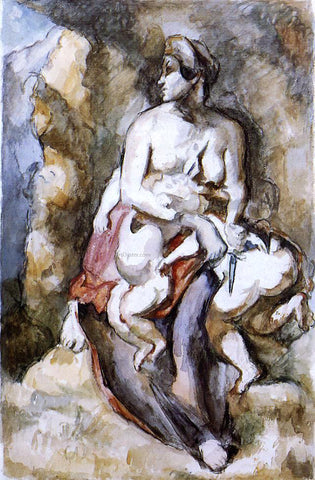 Paul Cezanne Medea (after Delacroix) - Hand Painted Oil Painting