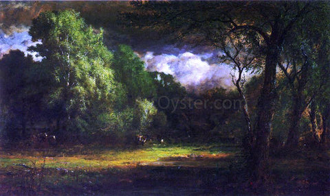 George Inness Medfield, Massachusetts - Hand Painted Oil Painting