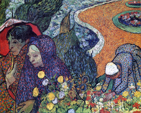 Vincent Van Gogh A Memory of the Garden of Eden - Hand Painted Oil Painting