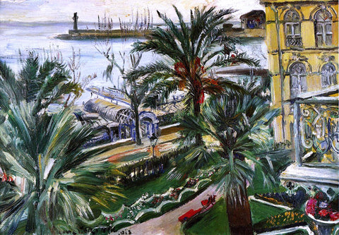 Lovis Corinth Menton - Hand Painted Oil Painting