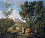 Andrea Locatelli Mercury and Argus - Hand Painted Oil Painting