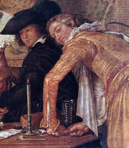 Willem Pietersz Buytewech Merry Company (detail) - Hand Painted Oil Painting