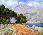 Claude Oscar Monet Meton Seen from Cap Martin - Hand Painted Oil Painting
