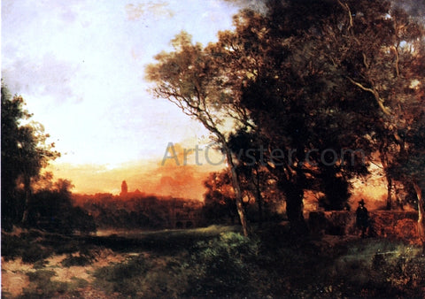 Thomas Moran Mexico - Landscape - Hand Painted Oil Painting