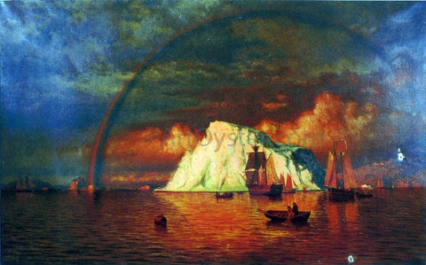 William Bradford Midnight Sun - Hand Painted Oil Painting