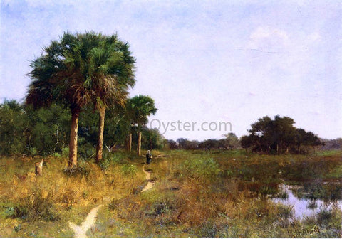 William Lamb Picknell Midwinter in Florida - Hand Painted Oil Painting
