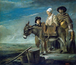 Le nain Brothers Milkmaid's Family - Hand Painted Oil Painting