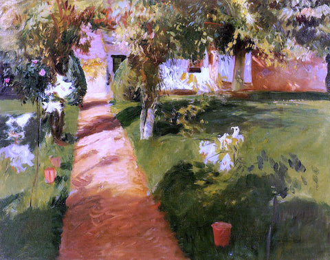 John Singer Sargent Millet's Garden - Hand Painted Oil Painting