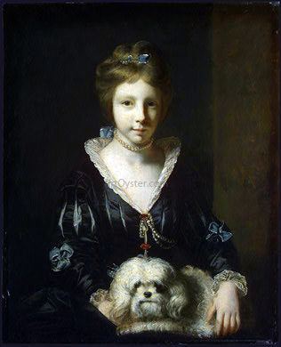 Sir Joshua Reynolds Miss Beatrix Lister - Hand Painted Oil Painting