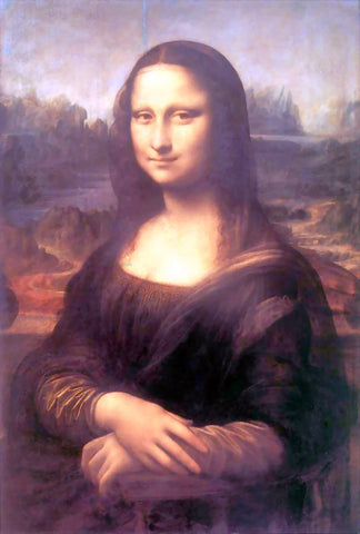 Leonardo Da Vinci Mona Lisa (also known as La Gioconda) - Hand Painted Oil Painting