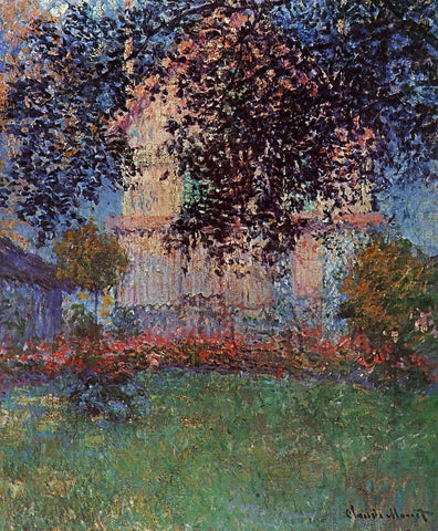 Claude Oscar Monet Monet's House in Argenteuil - Hand Painted Oil Painting