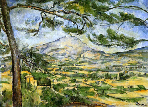 Paul Cezanne Mont Sainte-Victoire (Courtauld) - Hand Painted Oil Painting