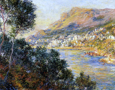 Claude Oscar Monet Monte Carlo Seen from Roquebrune - Hand Painted Oil Painting