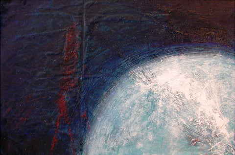 Our Original Collection Moon Rising - Hand Painted Oil Painting