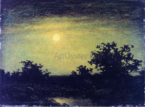 Ralph Albert Blakelock Moonlight - Hand Painted Oil Painting
