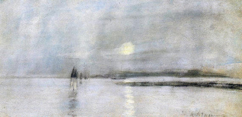 John Twachtman Moonlight, Flanders - Hand Painted Oil Painting