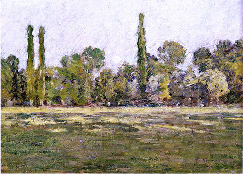 Theodore Robinson Moonrise - Hand Painted Oil Painting