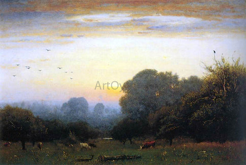 George Inness Morning - Hand Painted Oil Painting