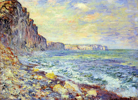 Claude Oscar Monet Morning by the Sea - Hand Painted Oil Painting