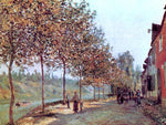 Alfred Sisley Morning in June (also known as Saint-Mammes et les Coteaux de la Celle) - Hand Painted Oil Painting