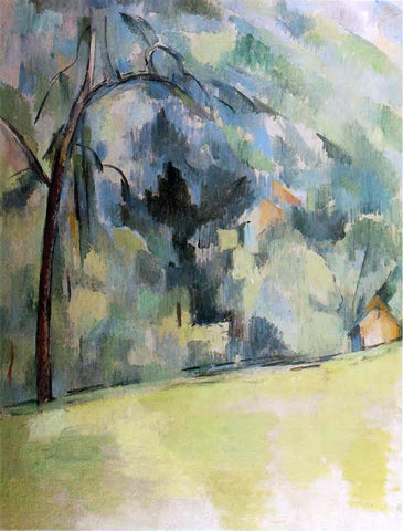 Paul Cezanne Morning in Provence - Hand Painted Oil Painting
