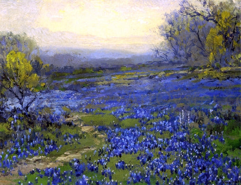 Julian Onderdonk Morning in the Bluebonnets - Hand Painted Oil Painting