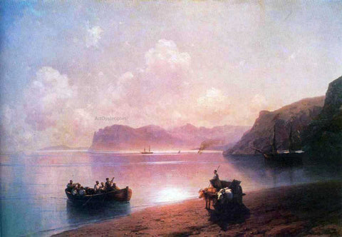 Ivan Constantinovich Aivazovsky Morning on a Sea - Hand Painted Oil Painting