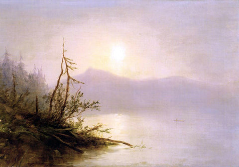Homer Dodge Martin Morning on Lake George - Hand Painted Oil Painting