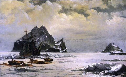 William Bradford Morning on the Artic Ice Fields - Hand Painted Oil Painting