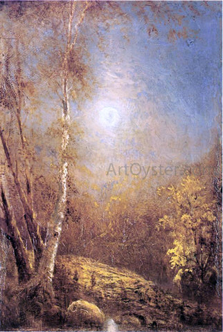 Louis Remy Mignot Morning Sun in Autumn - Hand Painted Oil Painting