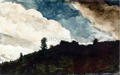 Winslow Homer Morning - the Morning Mist - Hand Painted Oil Painting