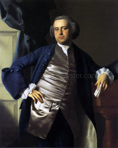 John Singleton Copley Moses Gill - Hand Painted Oil Painting