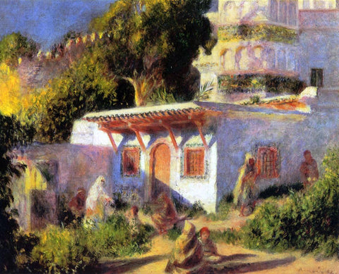 Pierre Auguste Renoir A Mosque in Algiers - Hand Painted Oil Painting