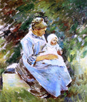 Theodore Robinson Mother and Child - Hand Painted Oil Painting