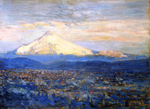 Frederick Childe Hassam Mount Hood - Hand Painted Oil Painting