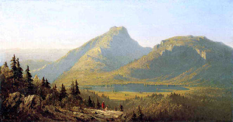 Sanford Robinson Gifford Mount Mansfield - Hand Painted Oil Painting