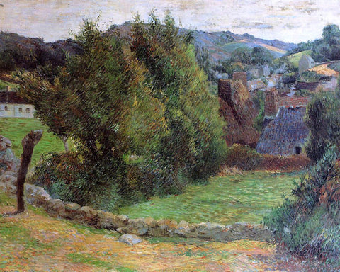 Paul Gauguin Mount Sainte-Marguerite from near the Presbytery - Hand Painted Oil Painting