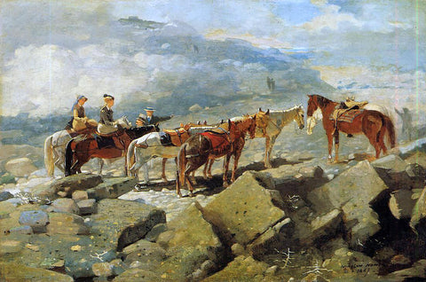 Winslow Homer Mount Washington - Hand Painted Oil Painting