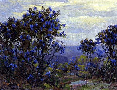 Julian Onderdonk Mountain Laurel in Bloom - Hand Painted Oil Painting