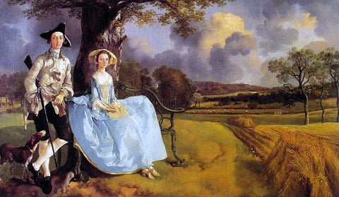 Thomas Gainsborough Mr and Mrs Andrews - Hand Painted Oil Painting