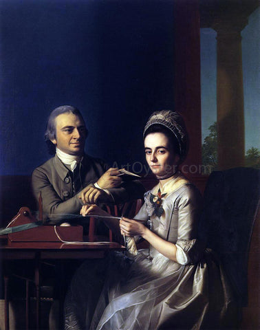 John Singleton Copley Mr. and Mrs Thomas Mifflin (Sarah Morris) - Hand Painted Oil Painting