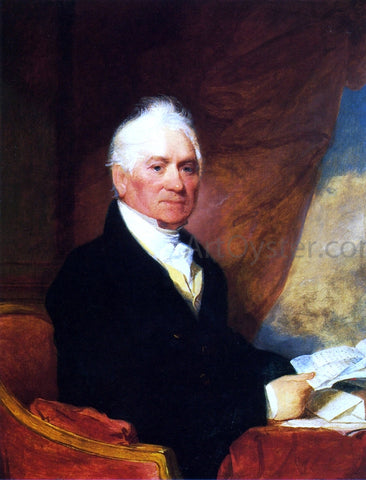 Gilbert Stuart Mr. Barney Smith - Hand Painted Oil Painting