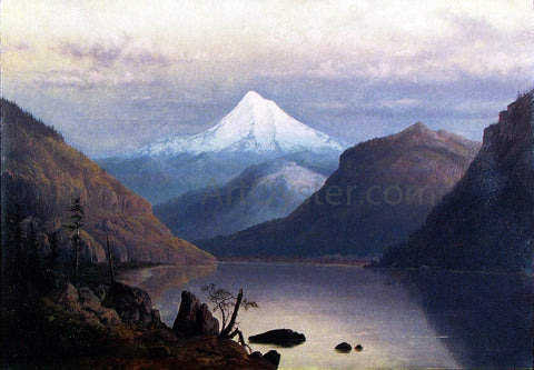 William Parrott Mr. Hood from the Columbia River - Hand Painted Oil Painting
